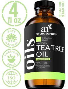 Tea Tree Oil for healing tragus piercing